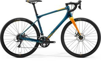 Rower GRAVEL MERIDA SILEX 200 Teal Blue (Gold) 2021