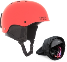 Kask snowboardowy SMITH HOLT 2020r red mat +POKR