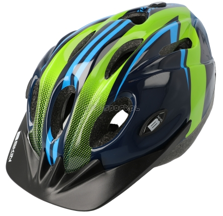 Kask JUNIOR B-SKIN Merida Tomcat BS407 blue green 52-56 M