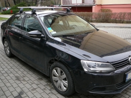Bagażnik AMC Mont Blanc ALU do VW Jetta 2005->