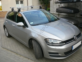 Bagażnik AMC Mont Blanc ALU do Vw Golf VII 2012r.->
