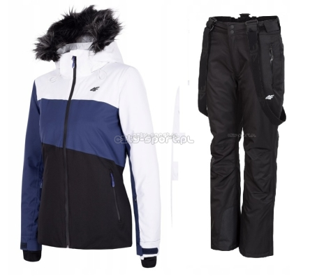 4f spodnie i kurtki damskie narciarskie