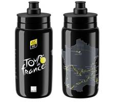 Bidon ELITE FLY Teams Tour de France 2020 Black 550ml