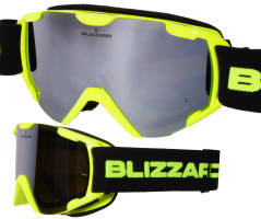 Gogle juniorskie BLIZZARD 952 DAO NEON YELLOW LIME