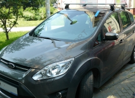 Bagażnik AMC Mont Blanc ALU do Ford C-Max 2010->