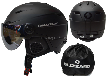 Kask Blizzard Double Visor black 56-59cm 60-63cm