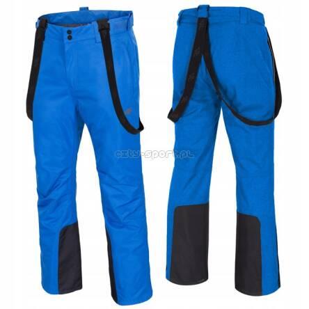 Męskie Spodnie Narciarskie 4F Z18 SPMN001 niebieski (denim)