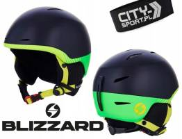 Kask narciarski BLIZZARD SPEED black/green