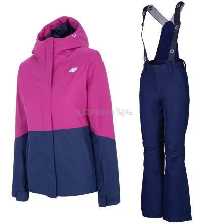 Kombinezon Narciarski Damski Kurtka 4f Spodnie Blizzard Pink Dark Blue Membr 20 000 Rzeszów City Sport Pl
