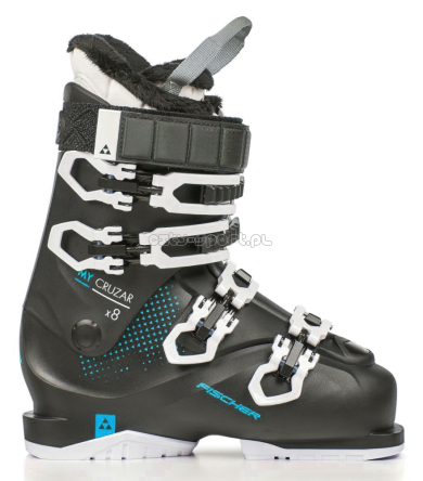 FISCHER BUTY DAMSKIE MY CRUZAR X 8.0 THERMOSHAPE BLACK/AZURE